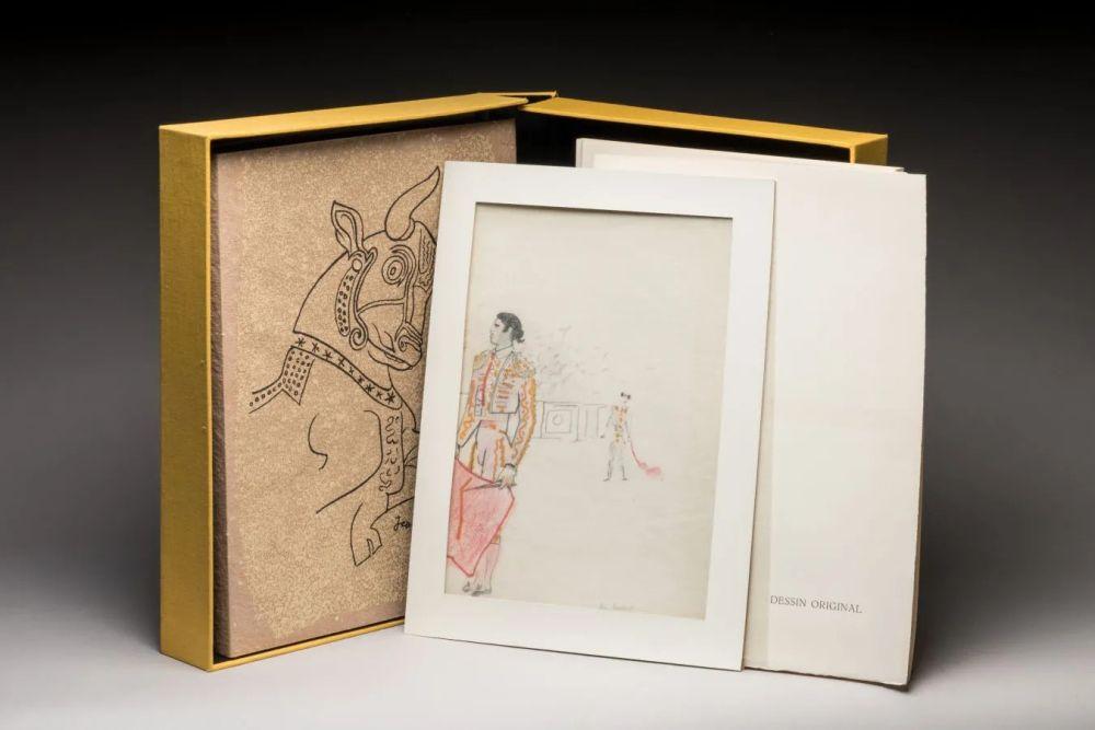 Livre Illustré Cocteau - Taureaux