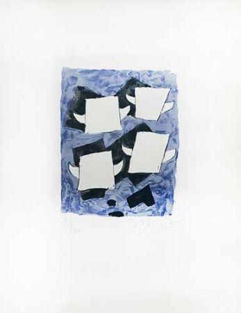 Lithographie Braque - Taureaux ailés