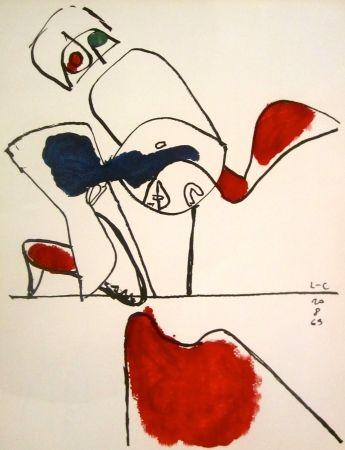 Lithographie Le Corbusier - Taurus XVII