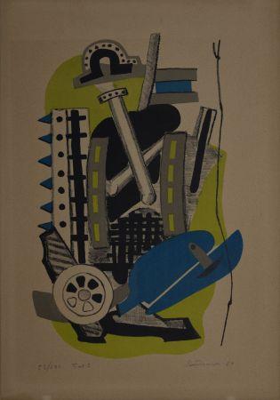 Lithographie Santomaso - Tav. 5