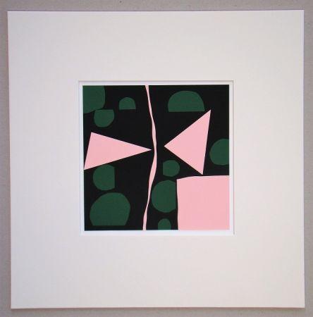 Sérigraphie Mortensen - Tavignano - 1964