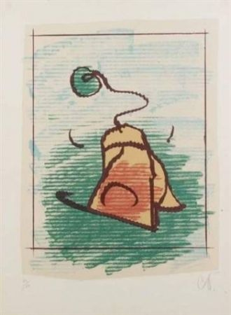 Lithographie Oldenburg - TEA BAG