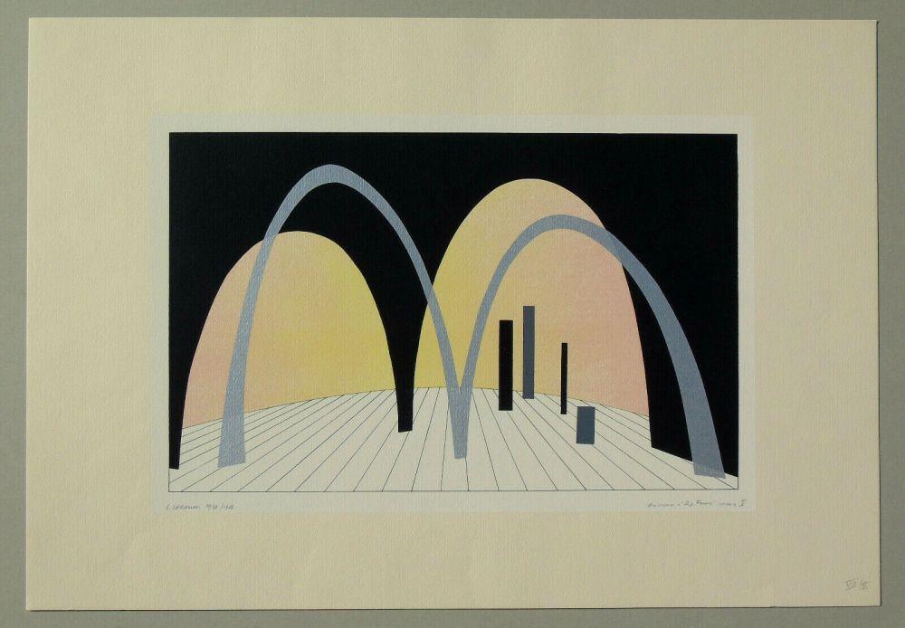 Lithographie Veronesi - Teatro 2 (tavola B)