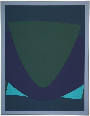 Sérigraphie Vasarely - Tecoma