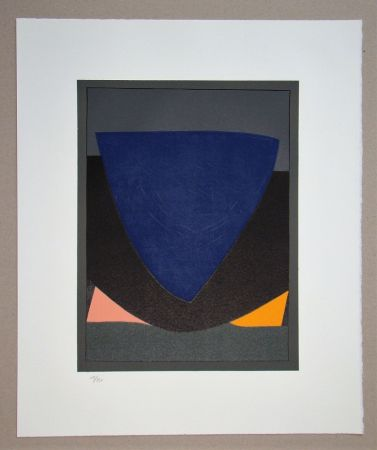 Lithographie Vasarely - Tecoma