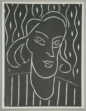 Linogravure Matisse - Teeny, 1938