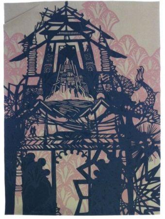 Sérigraphie Swoon - Temple