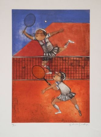Eau-Forte Boulanger - Tennis