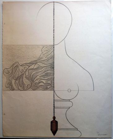 Lithographie Subirachs - Teresa Bonjour