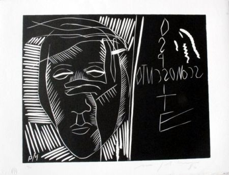 Linogravure Paladino - Terra tonda africana 3 - Ospite sconosciuto