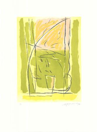 Eau-Forte Et Aquatinte Ràfols Casamada - Terrasses-3