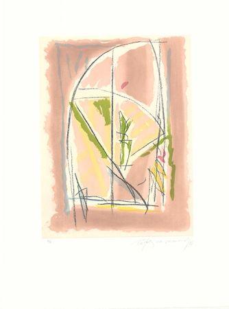 Eau-Forte Et Aquatinte Ràfols Casamada - Terrasses-6