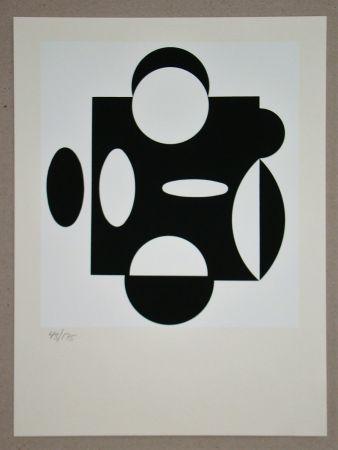 Sérigraphie Vasarely - Terreur