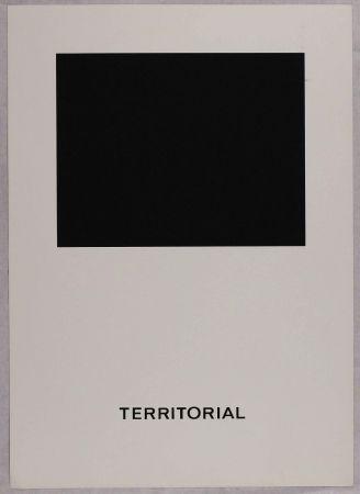 Sérigraphie Agnetti - Territorial from 'Spazio perduto e spazio costruito' portfolio, Plate B