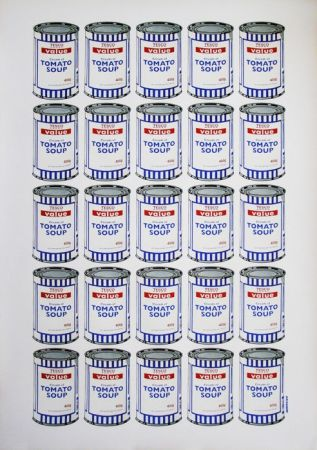 Lithographie Banksy - Tesco Soup Can