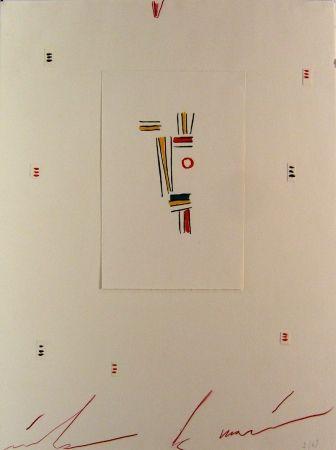 Lithographie De Maria - Testa Incosciente Innocente