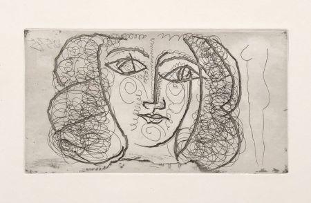 Aucune Technique Picasso -  Tete de femme de face (Small))
