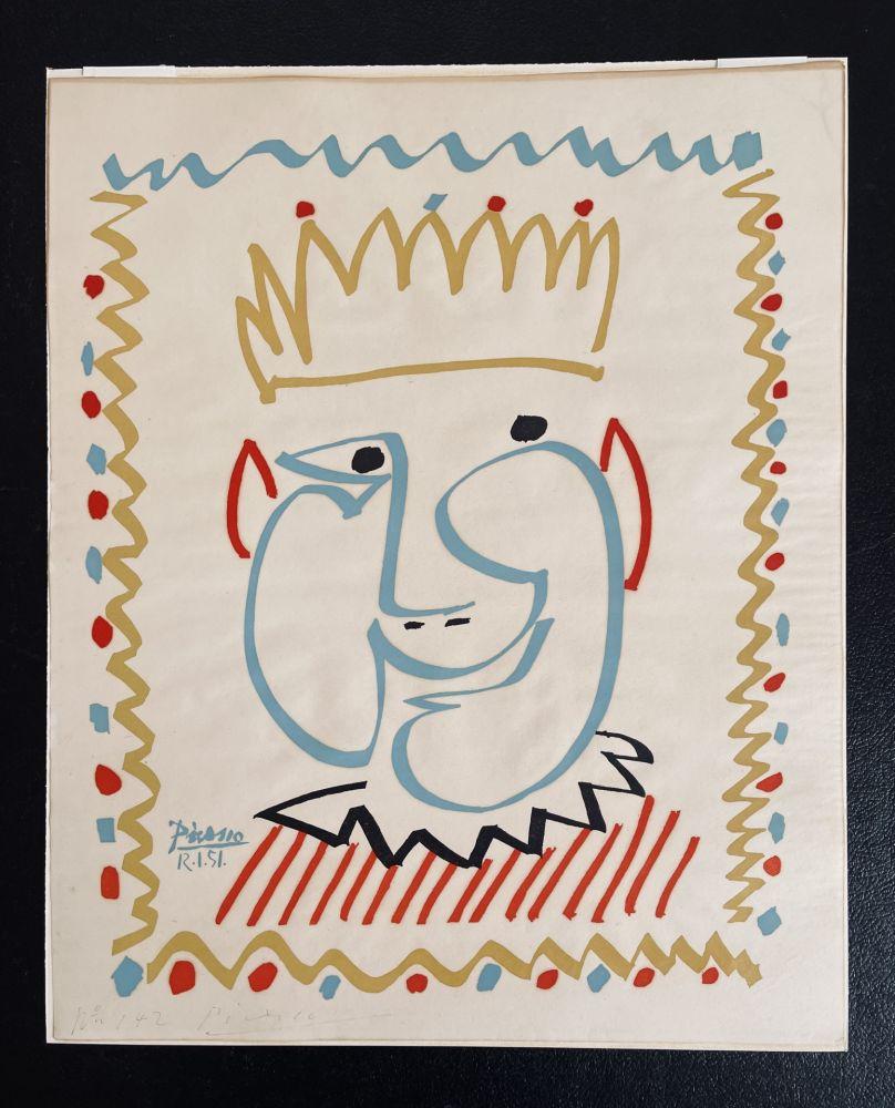 Aucune Technique Picasso - Tete de Roi (Le Carnaval de Nice)