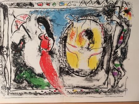 Livre Illustré Chagall - Tete DLM 147