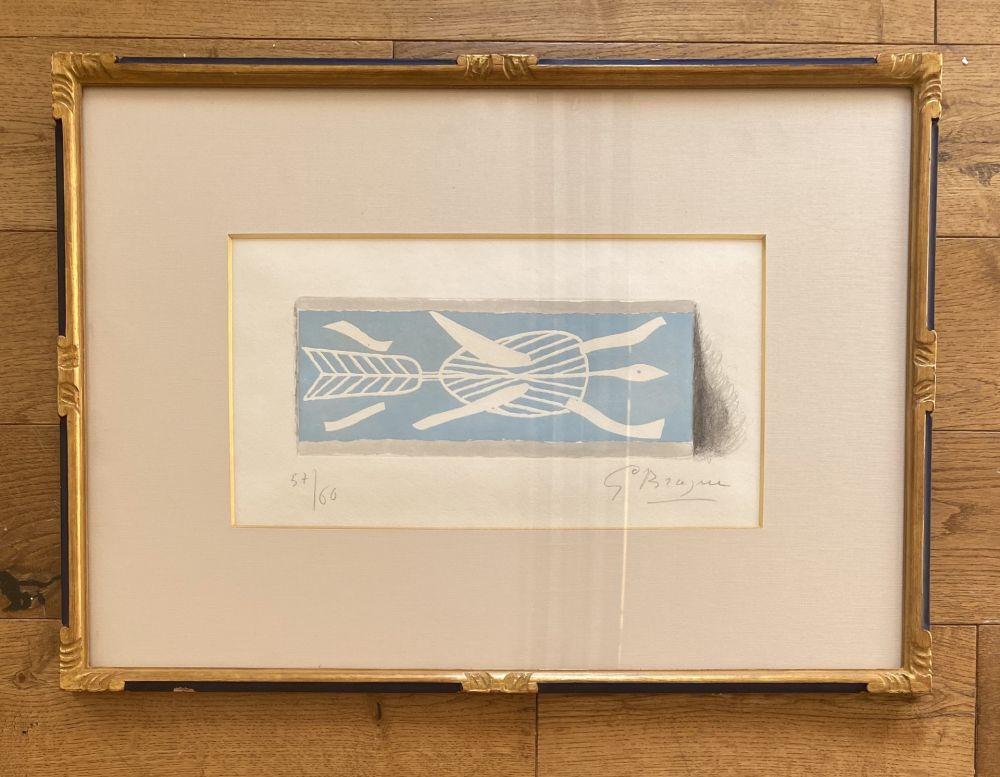 Gravure Braque - Thalassa II