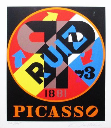 Sérigraphie Indiana - The American Dream (Picasso)