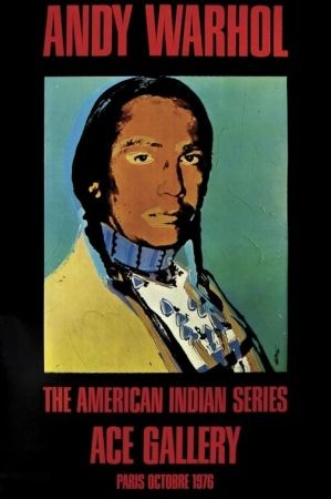 Affiche Warhol - The American Indian Series