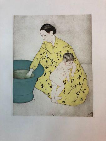 Eau-Forte Cassatt - The Bath