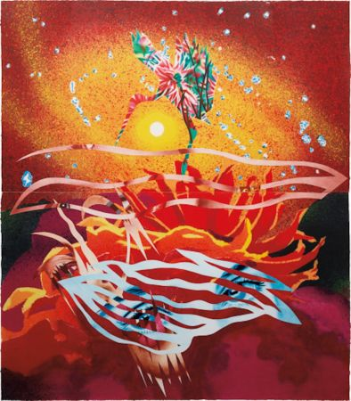 Aucune Technique Rosenquist - The Bird of Paradise Approaches the Hot Water Planet, from Welcome to the Water Planet Series