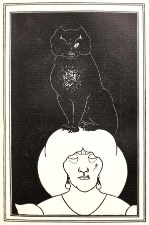 Relief Beardsley - The black Cat