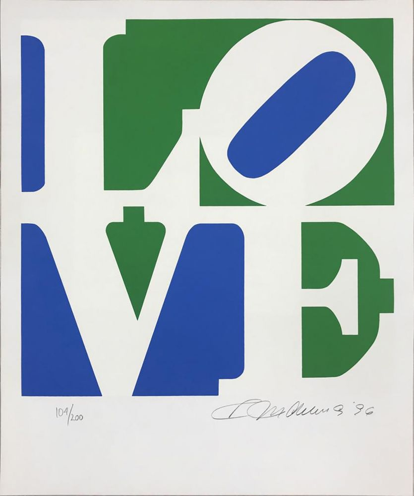 Sérigraphie Indiana - The Book of Love 8