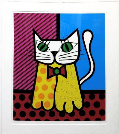 Sérigraphie Britto - THE CAT
