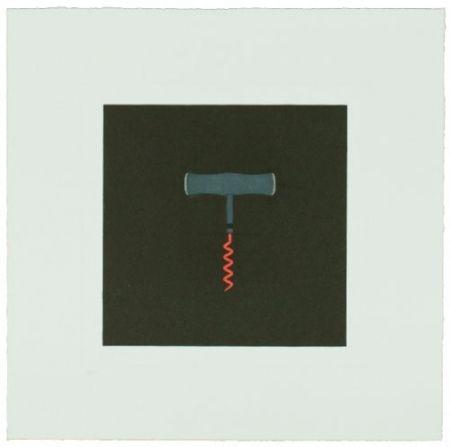 Gravure Craig-Martin - The Catalan Suite I - Corkscrew
