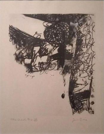 Lithographie Dine - The Crash #4