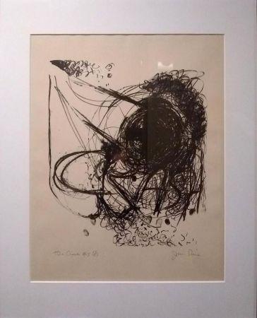 Lithographie Dine - The Crash #5