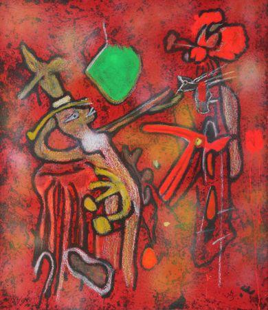 Gravure Matta - The Eld of the World