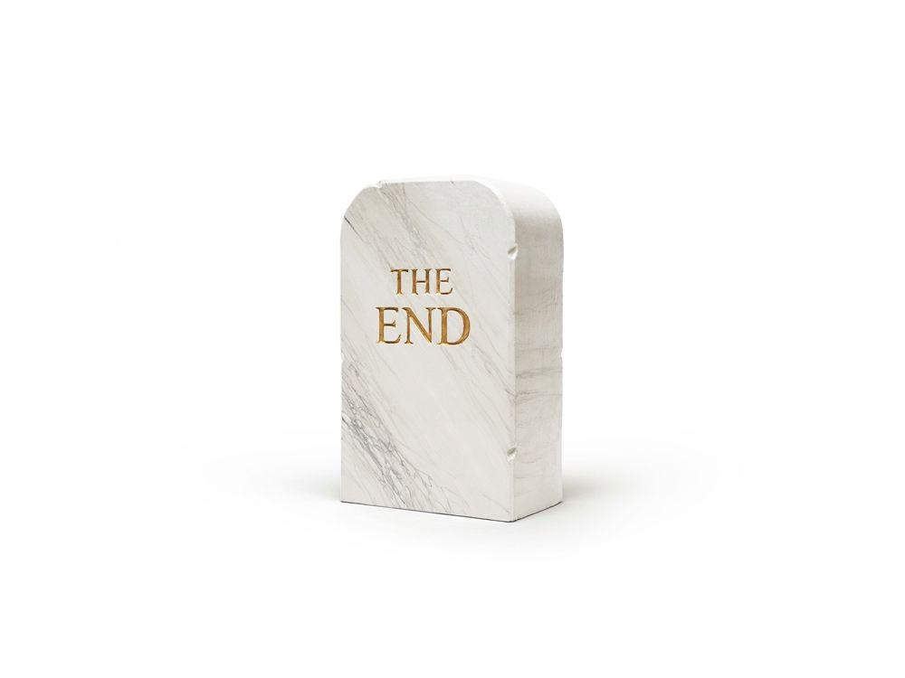 Aucune Technique Cattelan - The End (marble)