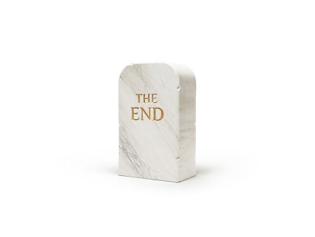 Aucune Technique Cattelan - The End (marble)