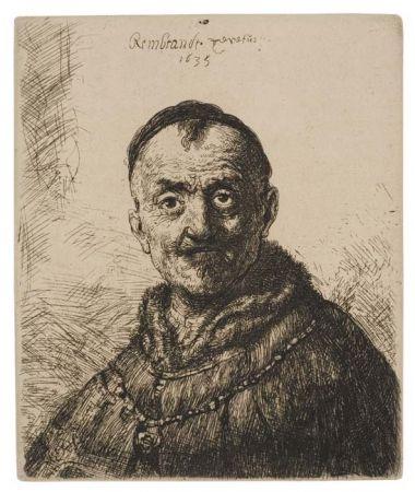 Gravure Rembrandt - The First Oriental Head