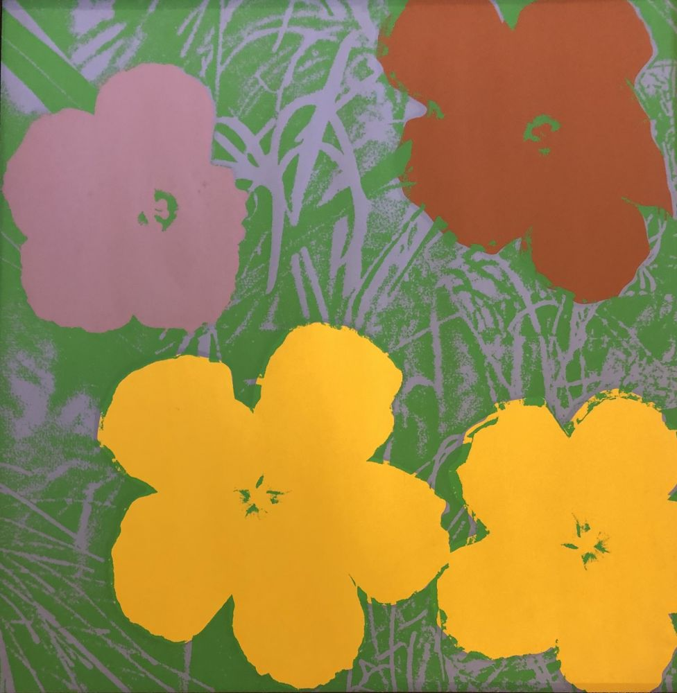 Sérigraphie Warhol - The Flowers