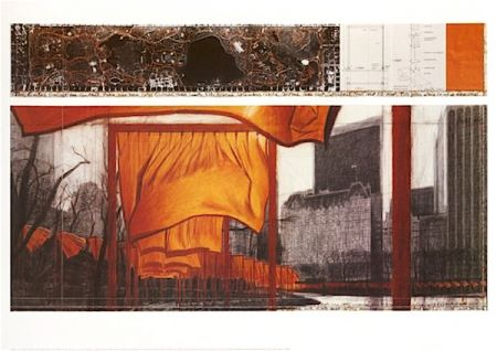 Lithographie Christo - The Gates (P)