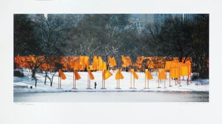 Photographie Christo - The Gates Rondell
