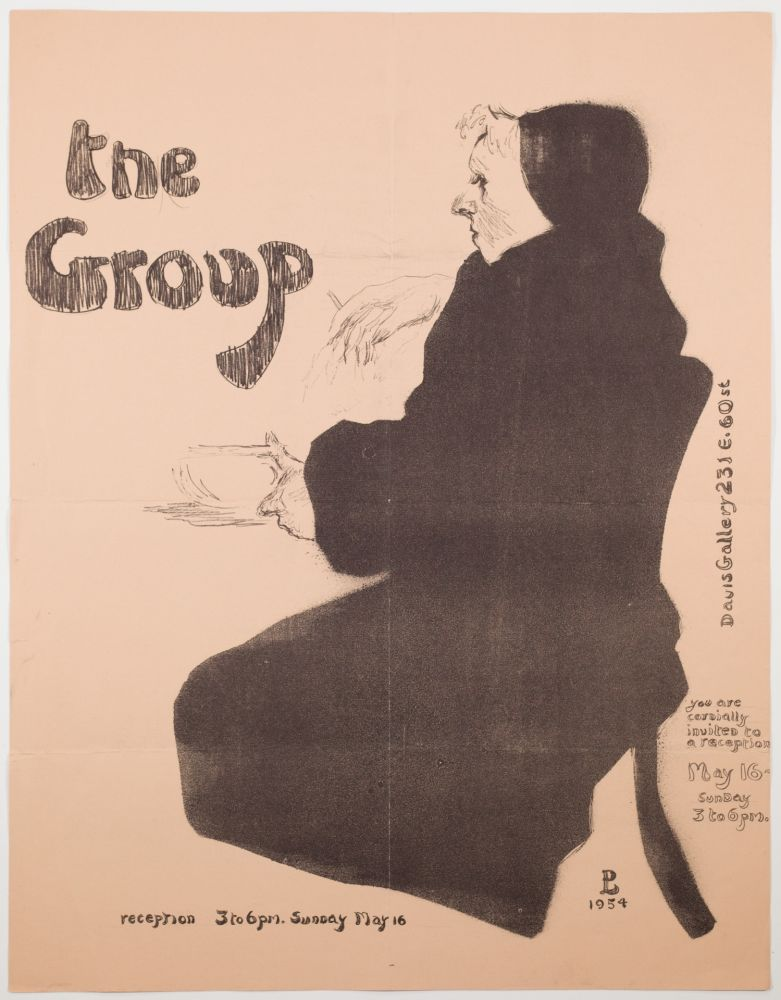 Lithographie Levine - The Group