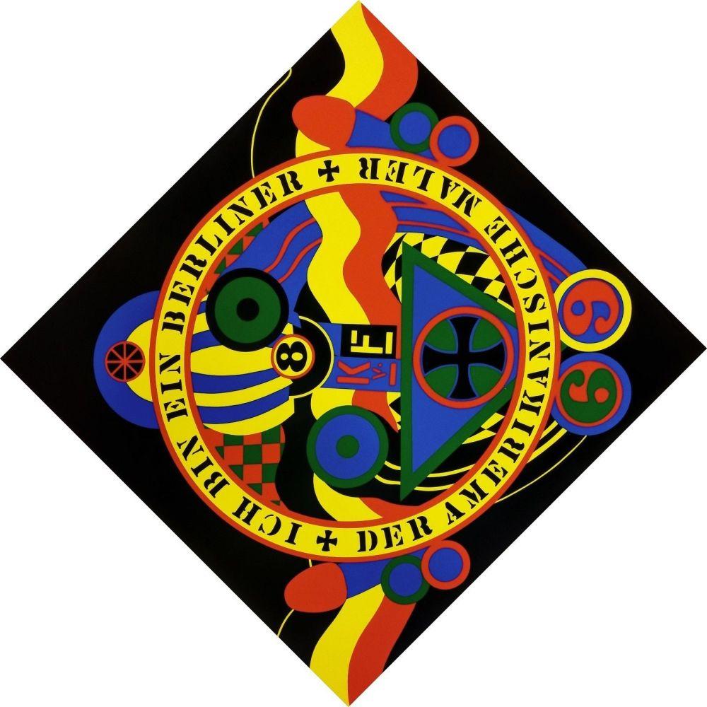 Sérigraphie Indiana - THE HARTLEY ELEGIES - KvF IX