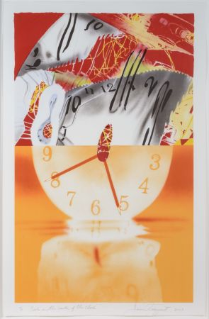 Lithographie Rosenquist - The Hole In The Center Of The Clock