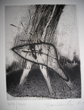 Eau-Forte Et Aquatinte Zanartu - The international avant garde 4