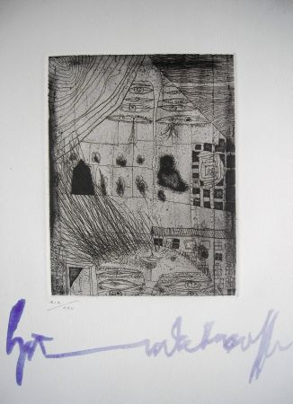 Eau-Forte Hundertwasser - The international avant garde 4