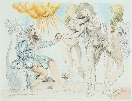 Gravure Dali - The Judgment of Paris