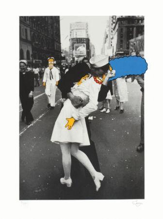 Sérigraphie Jago - The Kiss