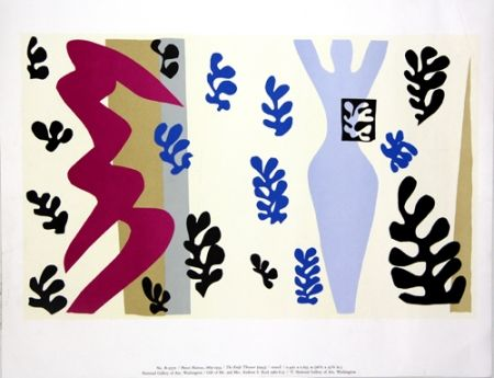 Sérigraphie Matisse - The Knife Thrower  National Gallery of Art Washington