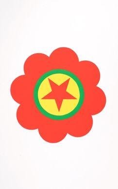 Sérigraphie Apfelbaum - The Kurdistan's worker party